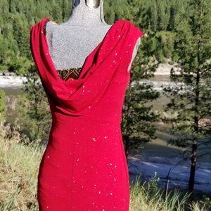Dresses & Skirts - Red Sparkle Cocktail Dress